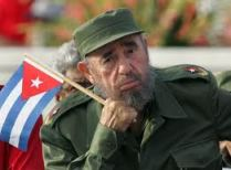 Castro pictured demonstrating the unpoisonability of that beard.